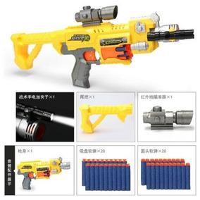 Nerf Amarela Completa + Adaptador
