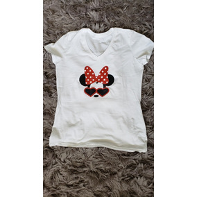 Playera Minnie Mouse Para Dama