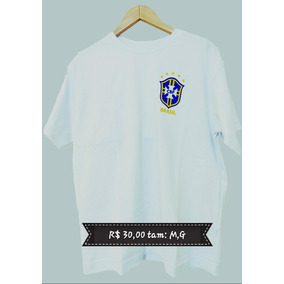 f5fe3da086 Petito Camisetas Silk Copa Do - Camisetas e Blusas no Mercado Livre ...