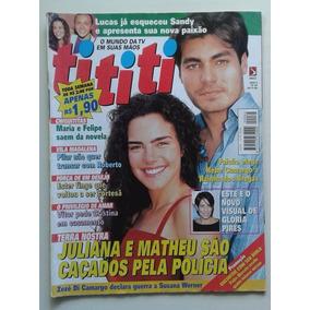 Revista Tititi Nº 64 - 1999 - Terra Nostra, Falcão, Fábio Jr