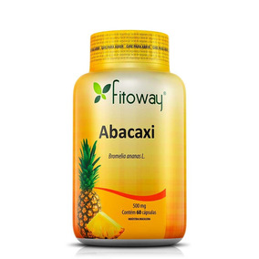Abacaxi 500mg - 60 Cáps - Fitoway®