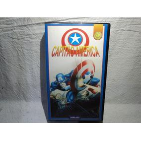 Antigo Vhs Capitão America Desenho.
