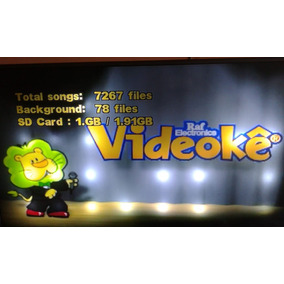 Videoke Pro 500 Com Mais De 7267 Musicas
