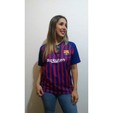 Camisa Barcelona Feminina - Futebol no Mercado Livre Brasil 79c755c1162dd
