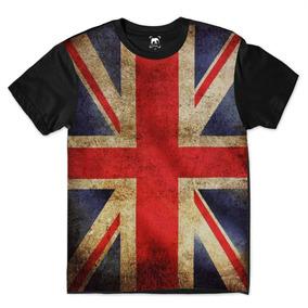 Camiseta Bandeira Inglaterra - Camisetas Manga Curta para Masculino ... cb166db13531a