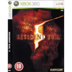 Jogo Resident Evil 5 Xbox 360 Midia Digital