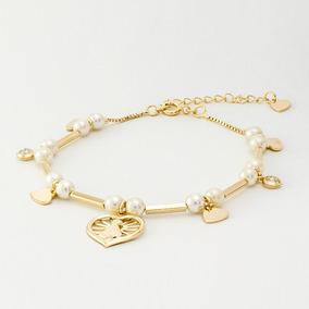 Bracelete Do Pai Nosso Ouro Prata E Bronze - Pulseiras e Braceletes ... 465173e4e7