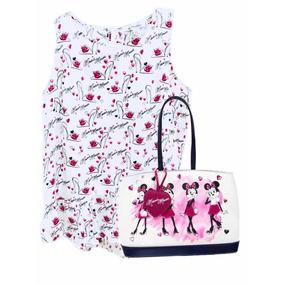 Blusa Y Bolsa De Minnie Mouse 100% Originales De Disney Paks