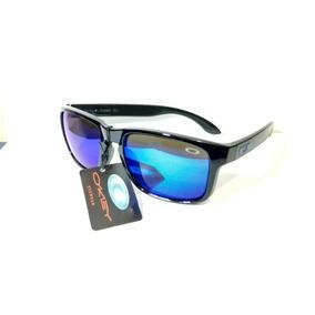 a0acb3987162b Oculos De Sol Holbrook Preto C  Azul - B2033
