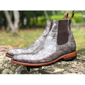 2ad757684a Botas De Cocodrilo Originales Cuadra - Zapatos de Hombre en Mercado ...