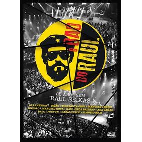 O Bau Do Raul 25 Anos Sem Raul Seixas - Dvd Rock
