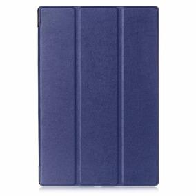 Capa + Pelicula Protetora Para Tablet Xperia Z4 - Azul