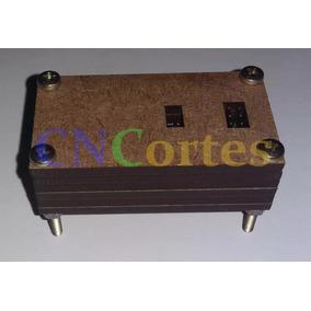 Case Box Gabinete Caixa Arduino Nano Em Mdf