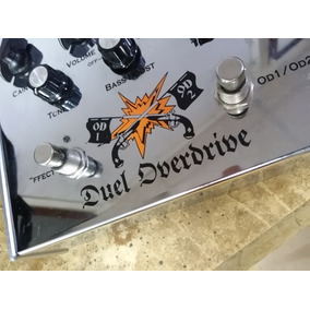 Vox Cooltron Ct07do Duel Overdrive Pedal