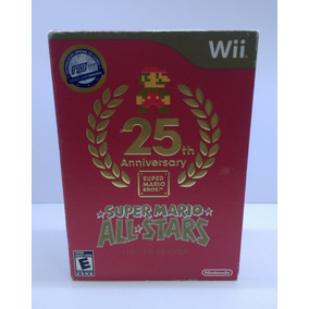 Super Mario All Stars 25th Aniversary Limited Edition - Wii