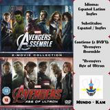 Avengers Colección Peliculas [2 Dvd]
