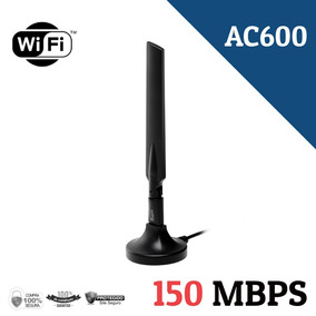 Kit 10 Adaptadores Wi-fi Wireless Ac600 Usb 150mbps