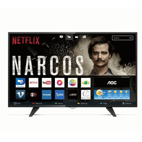 Smart Tv Led Full Hd Aoc 43 Polegadas 2 Usb 3 Hdmi Le43s5970