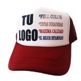 Gorra Trucker Personalizada Final  95 Sublimacion Full Color 53d83db2cb9