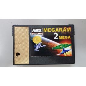 Cartucho Msx Megaram 2 Mega - Msx Projetos Edição Especial