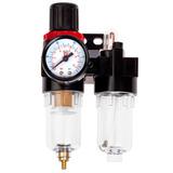 Filtro Pneumatico Regulador De Pressão E Lubrificador 1/4