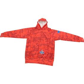 Sudadera Hoodie, Army2, Camuflaje - Color Rojo