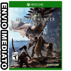 c9155eb4391 Monster Hunter World Xbox One - Games no Mercado Livre Brasil