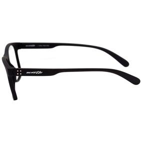 Arnette An 7148 L - Óculos De Grau 01 Preto Fosco - Lente 5, 5544bcac4d