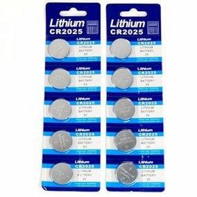 9efcb2e4611 Kit 50 Baterias P relogios Pilhas Lithium Cr2025 3v Plac Mãe
