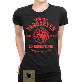 3bc5ef575 Camisa Feminina Game Of Thrones - Camisetas Manga Curta para ...