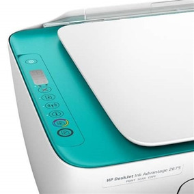 Impressora Multifuncional Hp Deskjet 2675 Wifi Bivolt Nf