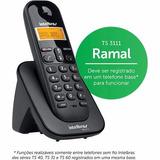 Telefone Sem Fio Ts3111 Ramal Preto Intelbr