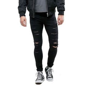 80031b2af Calça Rasgada Colcci - Calças Jeans Masculino no Mercado Livre Brasil
