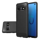 Funda Tpu Fibra Carbono Para Samsung A40 A50 A70 + Templado