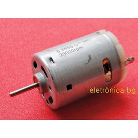 Motor Dc 36v 23.000rpm Kit Com 2pçs
