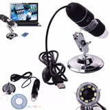 Microscopio Digital Usb Led 1000x Zoom Optico Hd 8 Potentes
