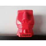 Figura De Cabeza Kingston Color Rojo Nueva