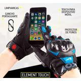 Guantes Para Motociclista Touch Cell Gratis Portaguante