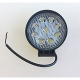 Faro Caminero Auxiliar Led Redondo 110mm 9 Leds 27w 12/24v
