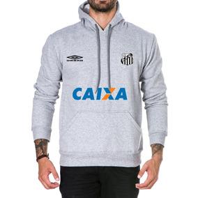 Blusa De Frio Do Santos - Moletom Masculinas Prateado no Mercado ... d7d9fa71da540