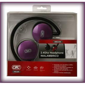 Auricular C/microfono Inalambrico Gtc Para Pc Hsg-430