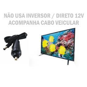 Tv Digital 12 V 24 P Hdmi Caminhão Trailer Ônibus Motor Home