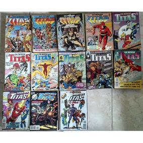 Os Novos Titãs - 125 Edições Editora Abril Formatinho