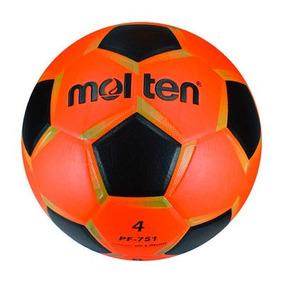 Balón Futbol Rapido Molten Pf-751 Laminado N.4 Paq 4 Pza 4271da55aa271