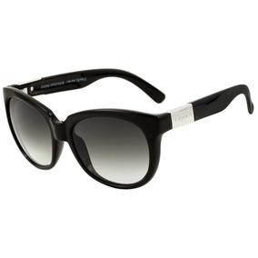 Oculos Solar Evoke Bomber Black Shine Silver Gray Gradient - Óculos ... 248ddef3d1