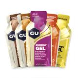 Gu Energy Gel Caixa Com 24 Sachês Sabores Sortidos