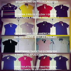 6b955c2a73178 Camiseta Tipo Polo Lacoste - Ropa - Mercado Libre Ecuador