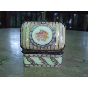 Porta Joias De Porcelana Modelo Europeu Antiga