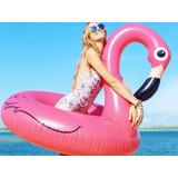 Boia Inflável Flamingo 120 Cm