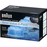 Braun Clean Cartuchos De Recarga Para Afeitadora